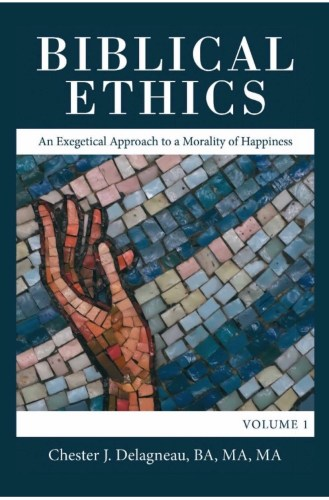 Author Chester J. Delagneau, a San Clemente resident, publishes new book, Biblical Ethics: An Exegetical Approach to a Morality of Happiness. Photo: Courtesy