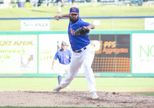 Kyle Friedrichs, 2010 San Clemente graduate, is currently throwing with the AA Midland Rockhounds in the Oakland Athletics system. Photo: Midland Rockhounds