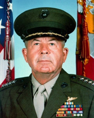 General John Kerry Davis, San Clemente resident of 33 years and former assistant Commandant of the United States Marine Corps, died at the age of 92 on Wednesday, July 31. Photo: Courtesy of The Heritage of San Clemente Foundation