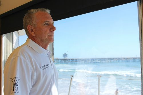 Bill Humphreys, Marine Safety Chief, said the nearly $2 million city project is money well spent in terms of the public having a fully functional lifeguard department on the beach in San Clemente. Photo: Cari Hachmann