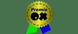 Web premiada con Premio Internacional OX