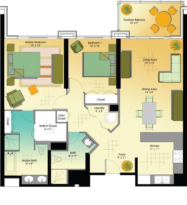 2 Bedroom Apartments For Rent In Trinidad 2 Bedroom