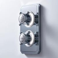 Crosswater Belgravia Crosshead Dual Outlet Digital Bath ...