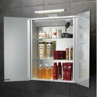 HIB Atomic Aluminium Bathroom Cabinet. HIB Bathroom