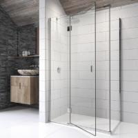 Kudos Pinnacle 8 Hinged Shower Door with Side Panel ...