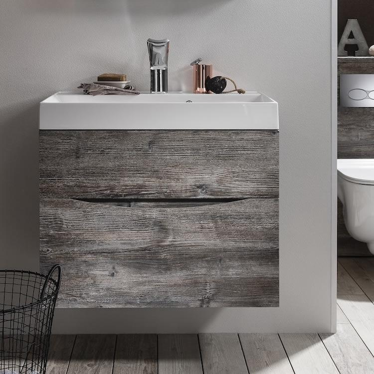 Crosswater Bauhaus Glide II Driftwood 700mm Bathroom