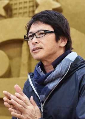 砂の美術館プロデューサー茶圓勝彦の顔写真