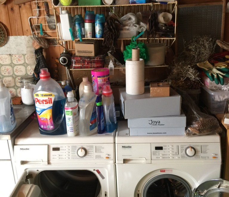 cluttered wash rescue before