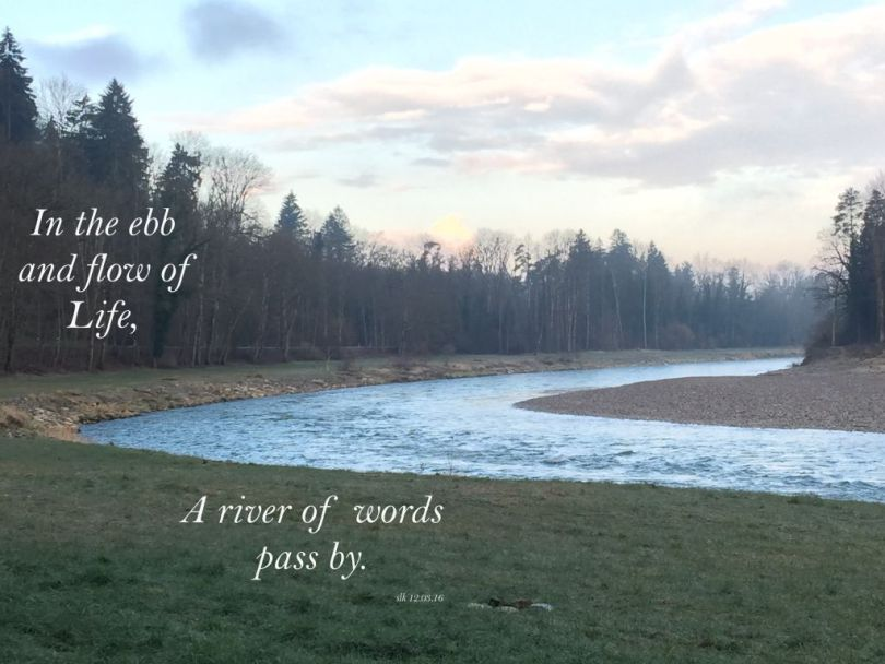 A River of Words pass by