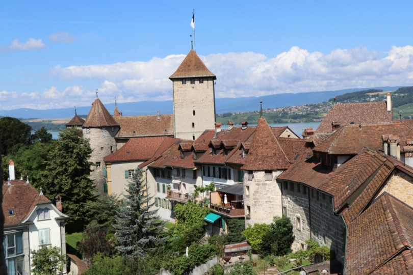 View from Murten city wall- when 'tis all there is