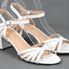 Sandale dama albe Lola