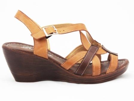 Sandale dama maro cu talpa ortopedica