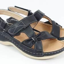 Sandale dama negre Elina