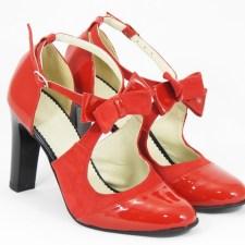 Sandale dama piele rosii Nicolette