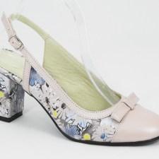 Sandale dama piele roz Laura
