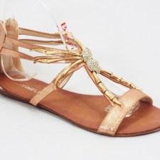 Sandale dama portocalii Unya