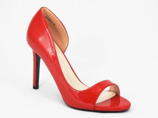 Sandale dama rosii Dorina