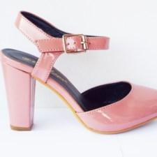 Sandale dama roz pal
