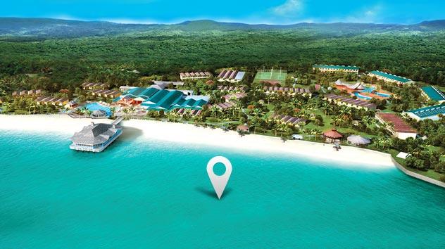 Resort com Golfe em St Lucia  Allinclusive  Sandals
