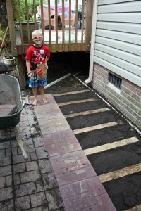 How to Lay a Brick Paver Patio or Path - Sand and Sisal