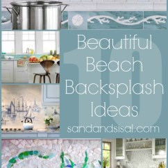 Beach House Kitchen Backsplash Ideas Lowes Coastal And Sand Sisal 10