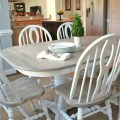 Two toned table how to refinish a table havertysinspired