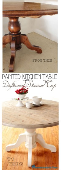 6 Ways to Refinish Tables, Desks & Buffets - Sand and Sisal