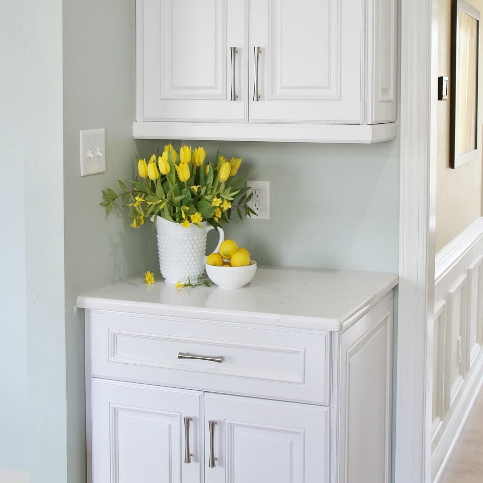 kitchen hardware splash guard sink diy cabinet template installation made easy