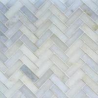 Marble Herringbone Tile | Tile Design Ideas