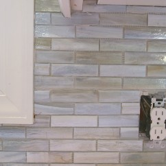 Installing Kitchen Backsplash Clocks Amazon A Paper Faced Mosaic Tile
