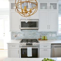 Kitchen Backsplash Trim Ideas Gas Ranges Coastal Makeover - The Reveal