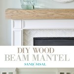 Easy And Inexpensive Shiplap Fireplace Wall Sand And Sisal