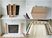Diy Wood Fireplace Mantel - Diy (Do It Your Self)