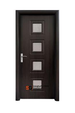 Интериорна врата модел 021 B Венге