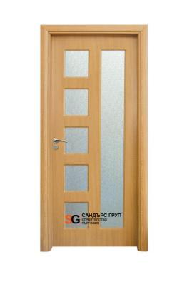 Интериорна врата модел 048 A Светъл Дъб