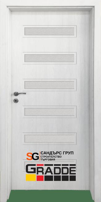 Интериорна врата Gradde Schwerin СИБИРСКА ЛИСТВЕНИЦА