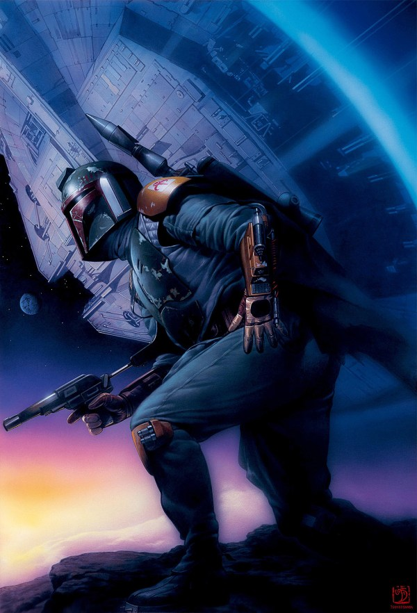 Star Wars Boba Fett Art