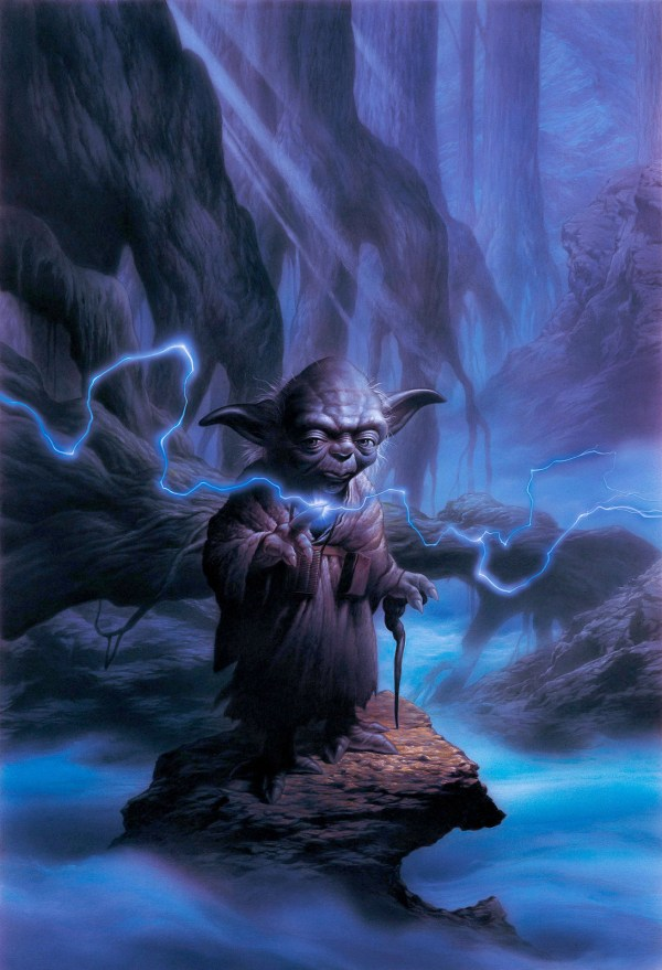 Yoda Star Wars Original Art