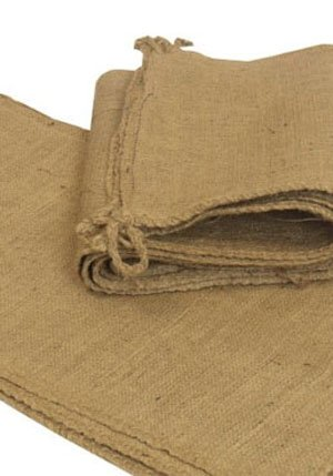 Empty Hessian Bags