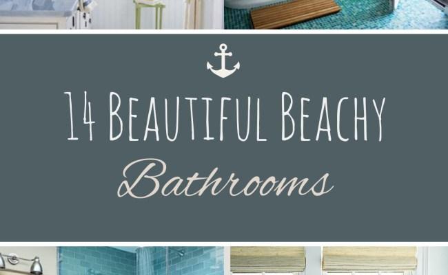 14 Beautiful Beachy Bathrooms Sand Between My Piggies