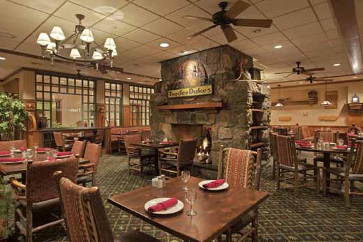 Trader Duke's Dining Area