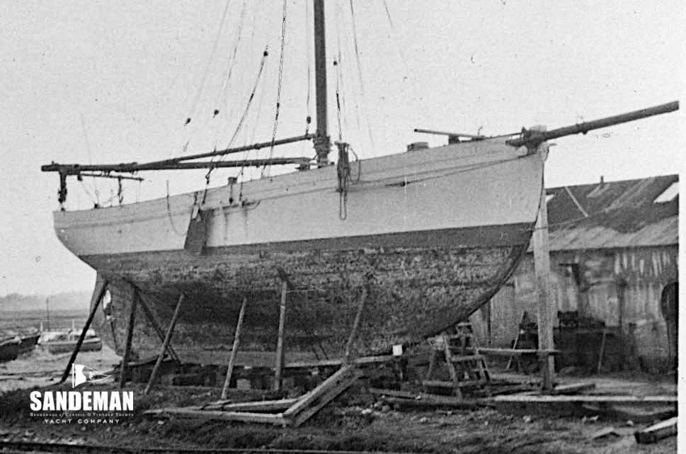 Albert Strange 47 Ft Gaff Cutter 1909 Sandeman Yacht Company