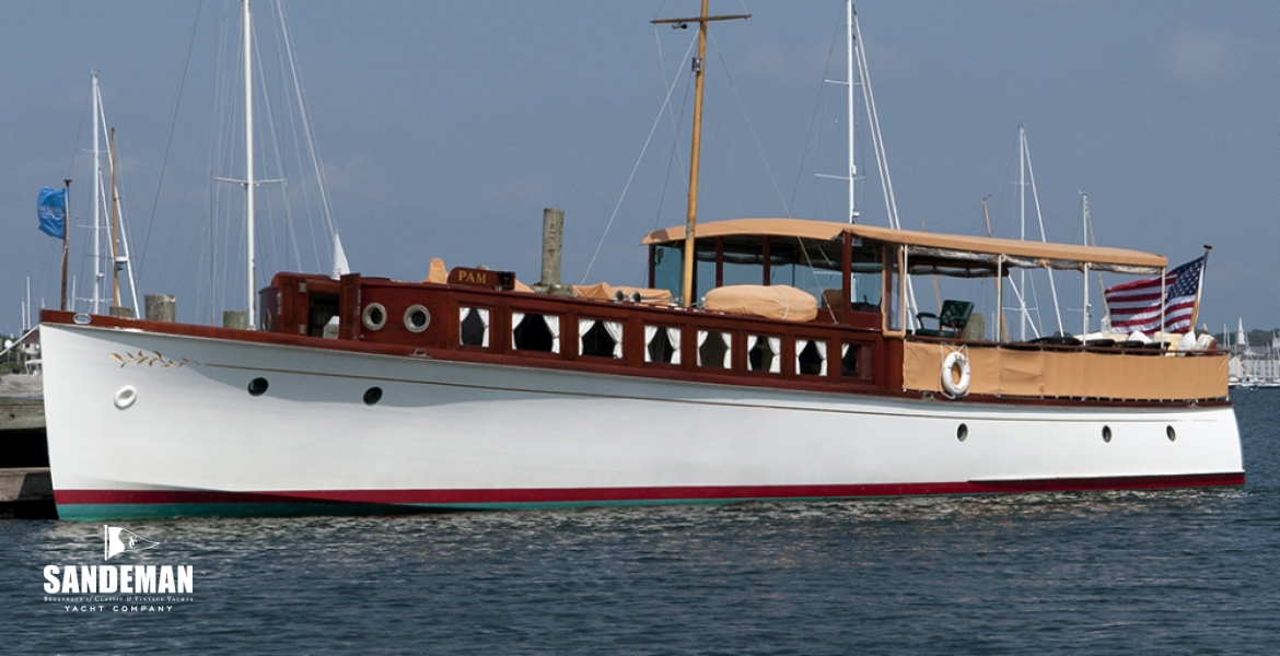 Great Lakes Boat Building 62 Ft Commuter Yacht 1921