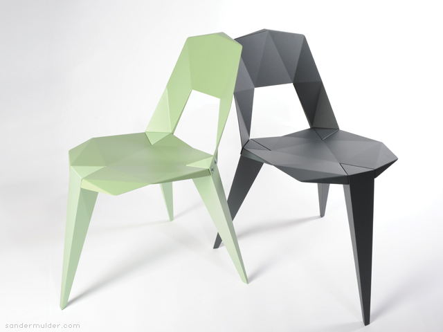 3 legged chair office arms too wide pythagoras studio sander mulder by