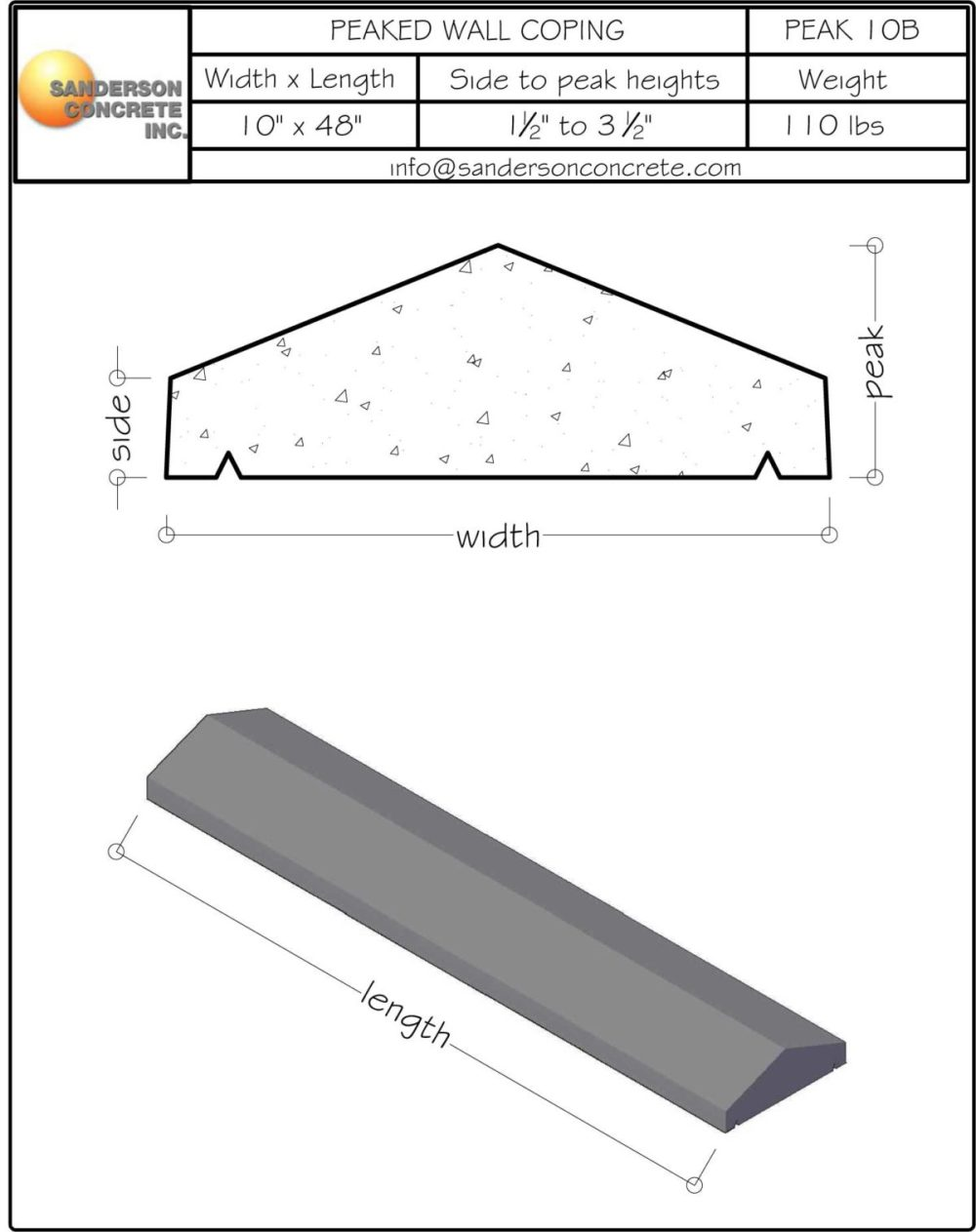 medium resolution of peak10b wall coping