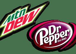 Mountain Dew - Dr Pepper - sponsor of Sanderson Farms Championship