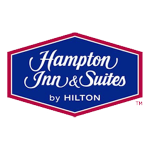 Logo for Hampton Inn & Suites