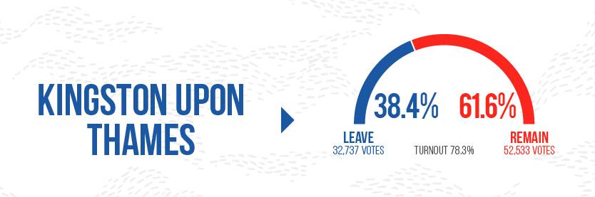 Brexit leave Graphics - Kingston Upon Thames