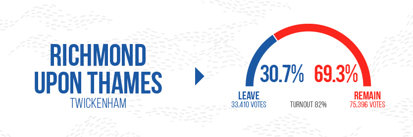 Brexit leave Graphics - Richmond Upon Thames