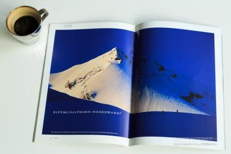 Article 'Bilumlisalphorn noordwand?' in Limits magazine.